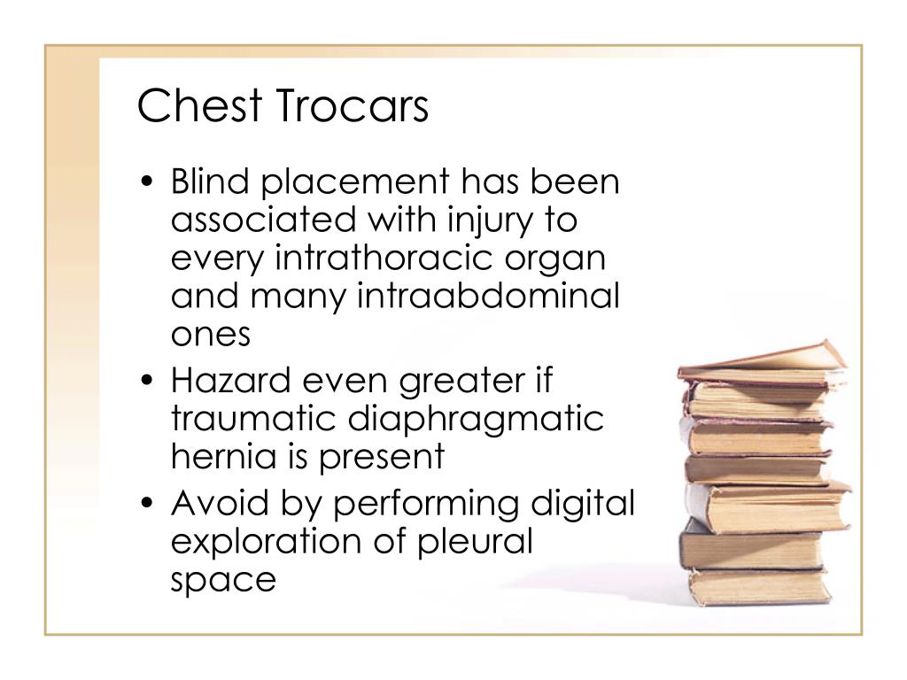 Chest Trocars