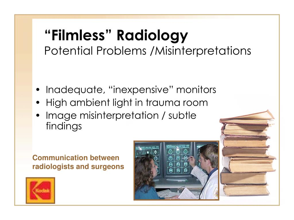 """Filmless"" Radiology"