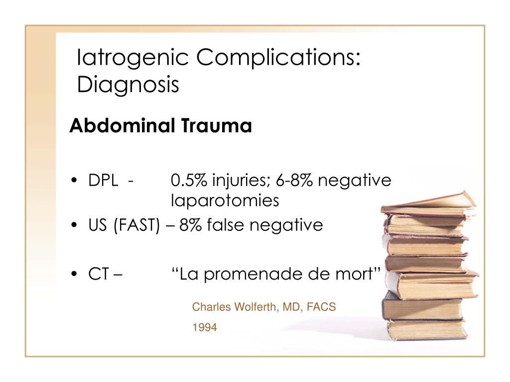Iatrogenic Complications: