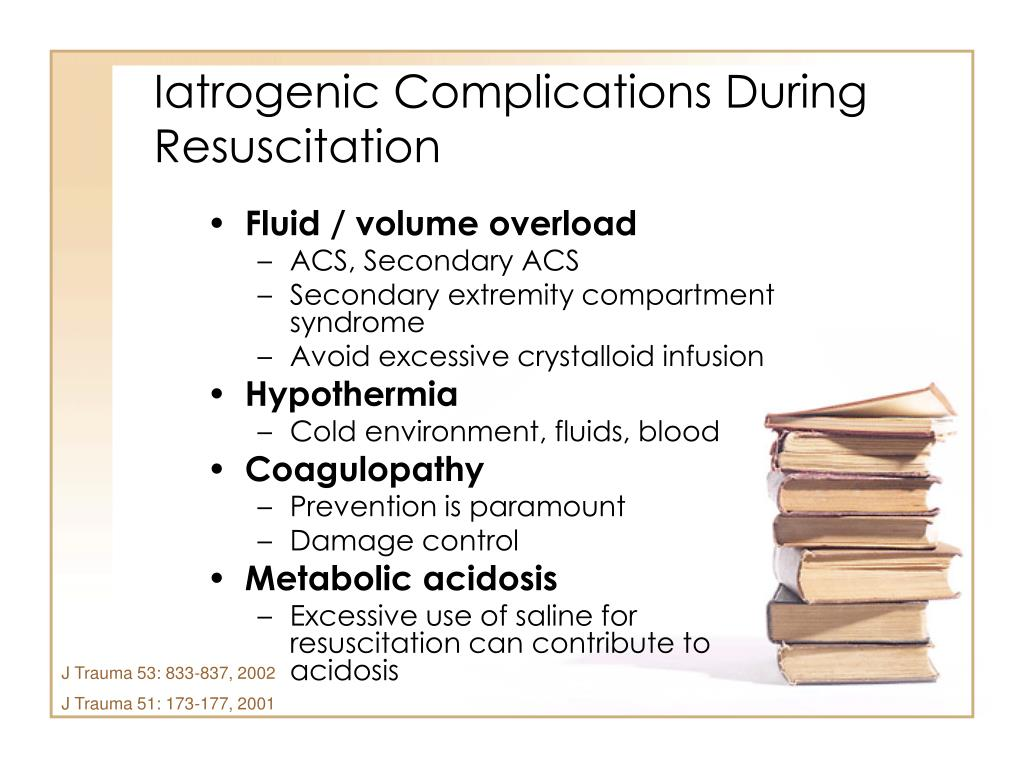 Iatrogenic Complications During Resuscitation