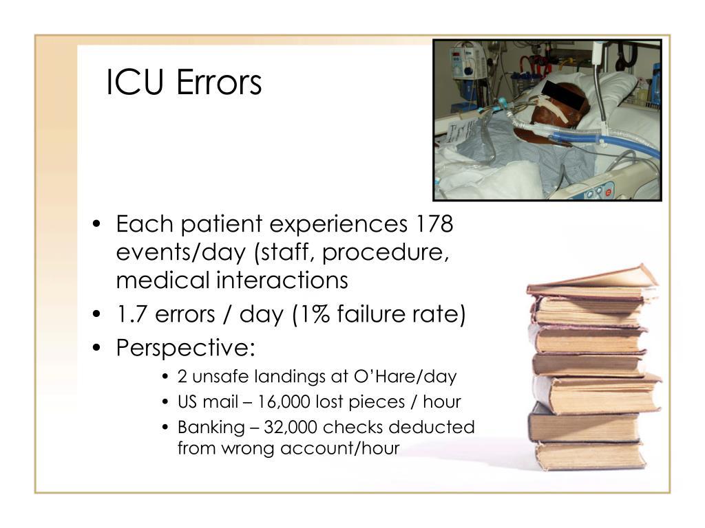 ICU Errors