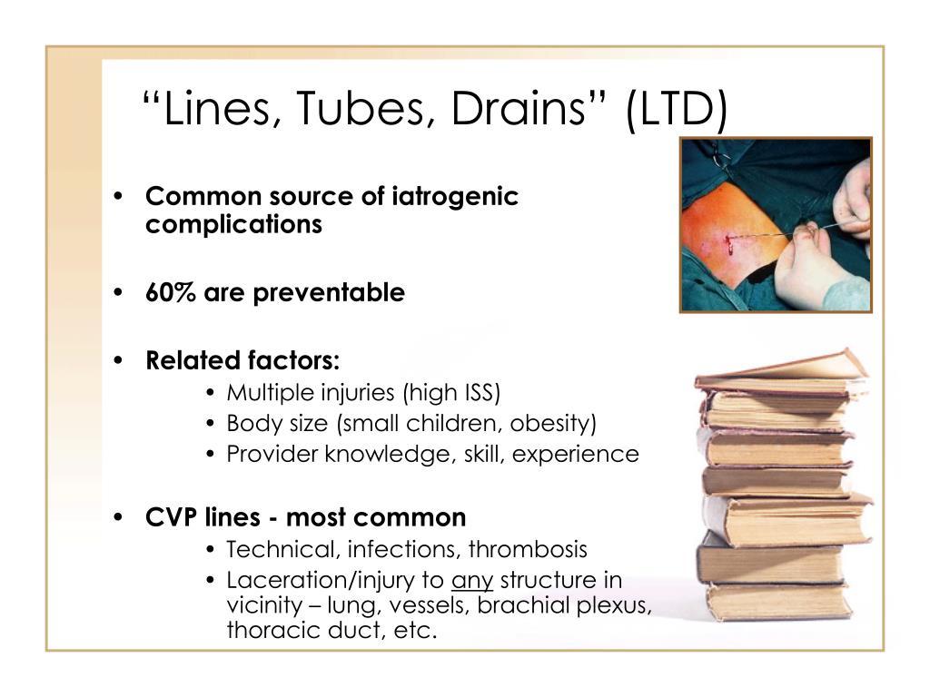 """""""Lines, Tubes, Drains"""" (LTD)"""