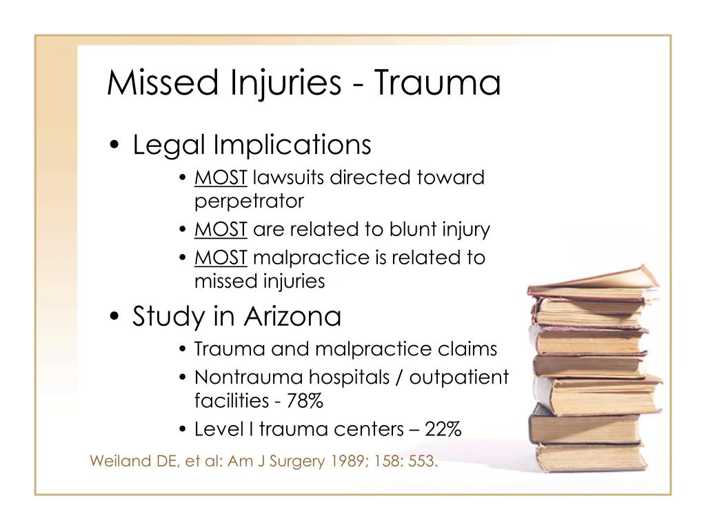 Missed Injuries - Trauma
