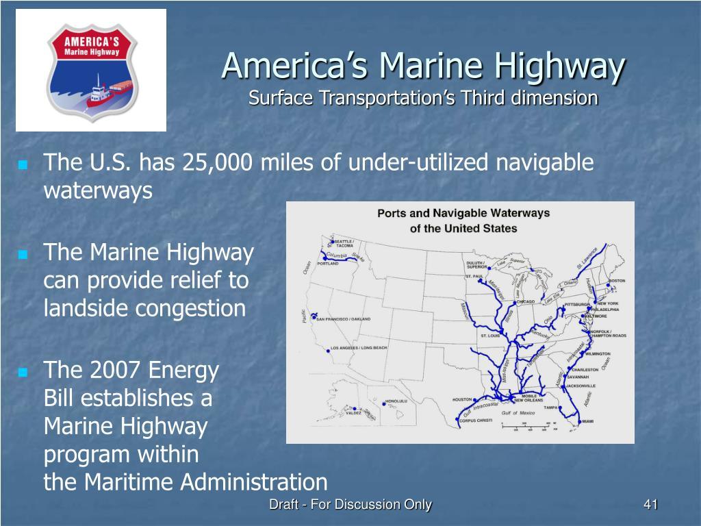 America's Marine Highway