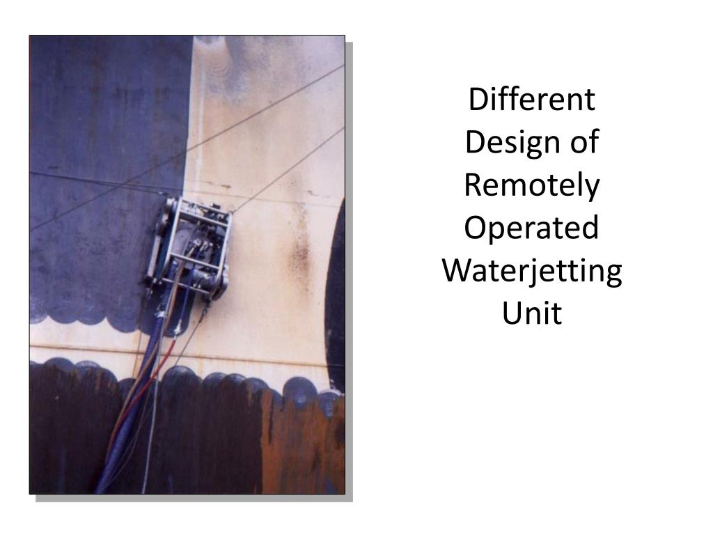 Different Design of Remotely Operated