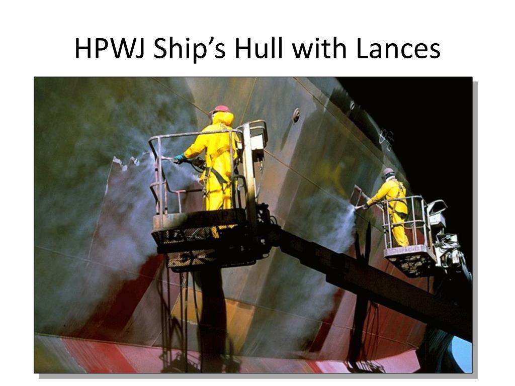 HPWJ Ship's Hull with Lances