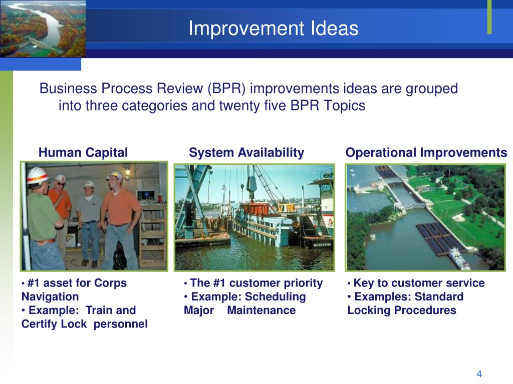 Improvement Ideas