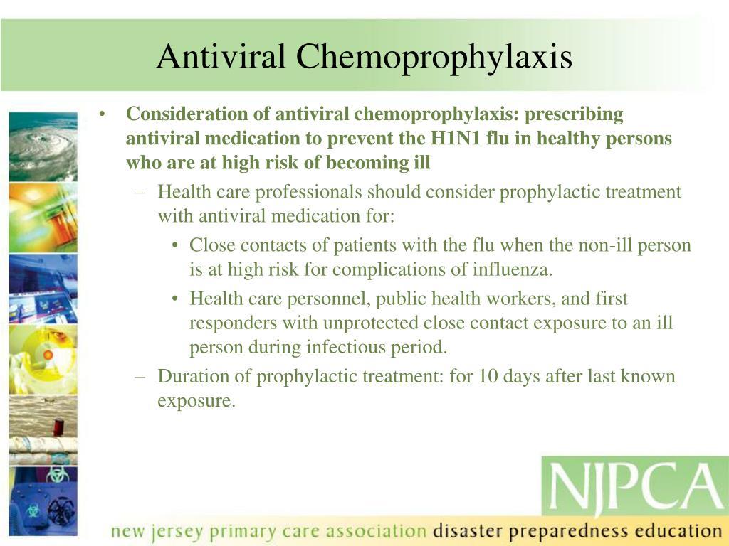 Antiviral Chemoprophylaxis