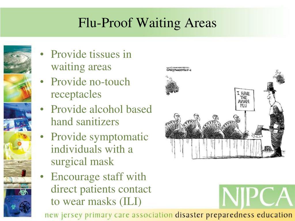 Flu-Proof Waiting Areas