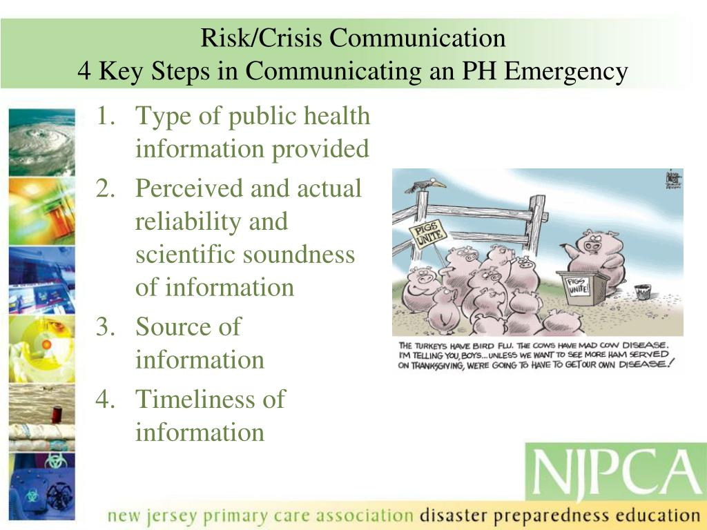 Risk/Crisis Communication
