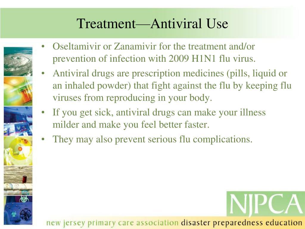 Treatment—Antiviral Use