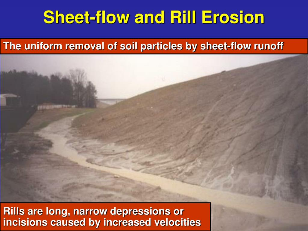Sheet-flow and Rill Erosion