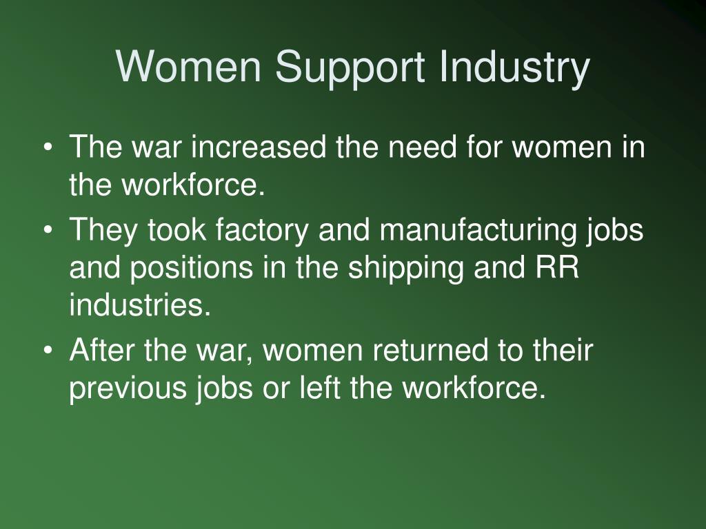 Women Support Industry