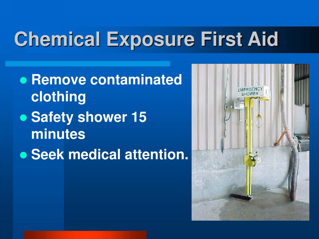 Chemical Exposure First Aid