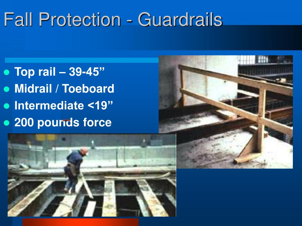 Fall Protection - Guardrails