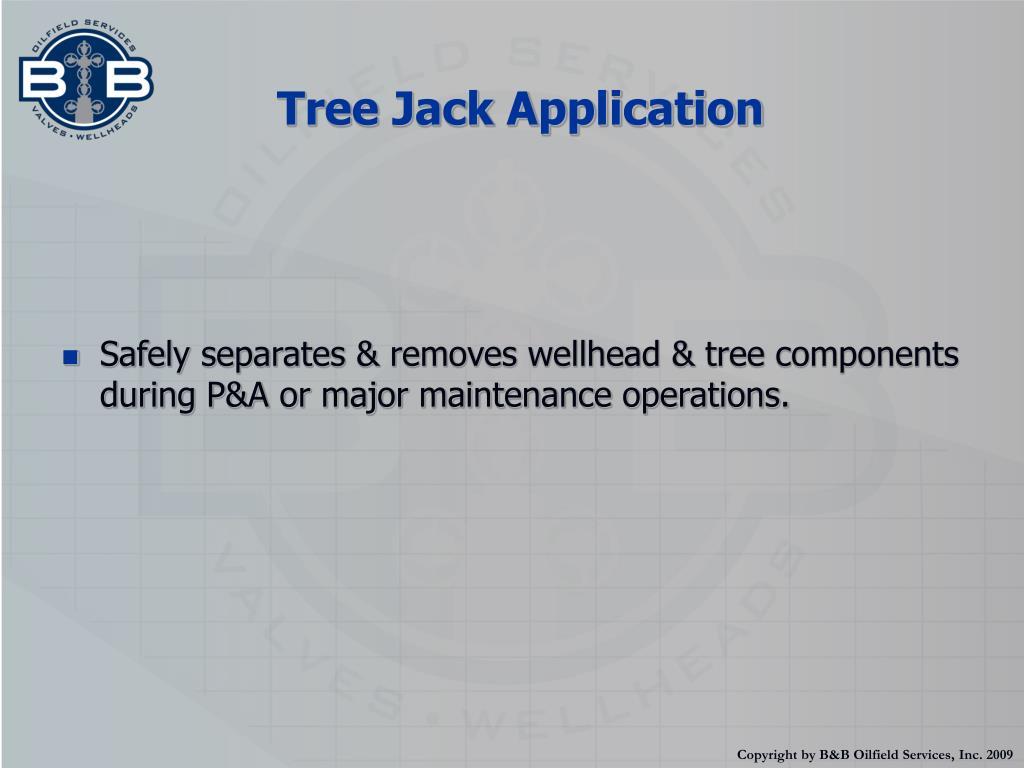 Tree Jack Application