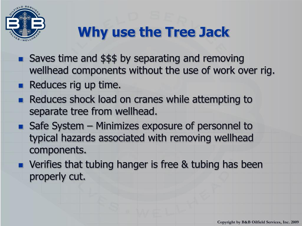 Why use the Tree Jack