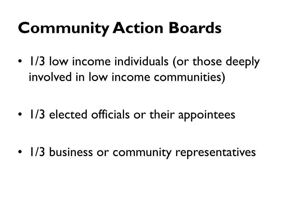 Community Action Boards