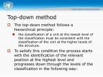 top down method14