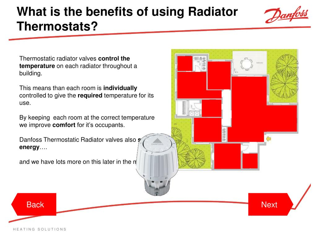 What is the benefits of using Radiator Thermostats?