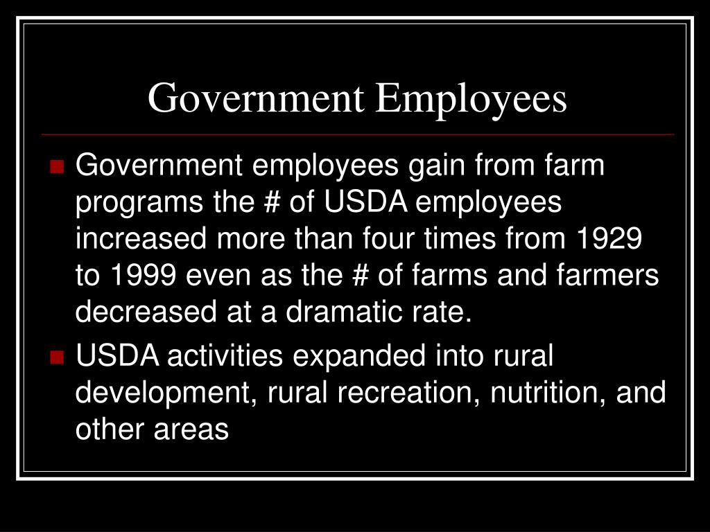 Government Employees