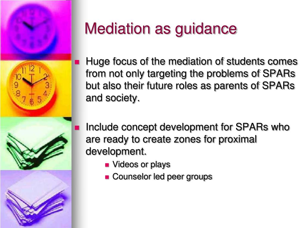 Mediation as guidance