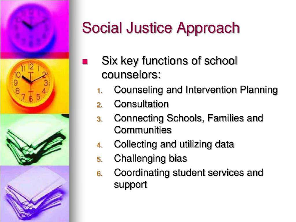 Social Justice Approach