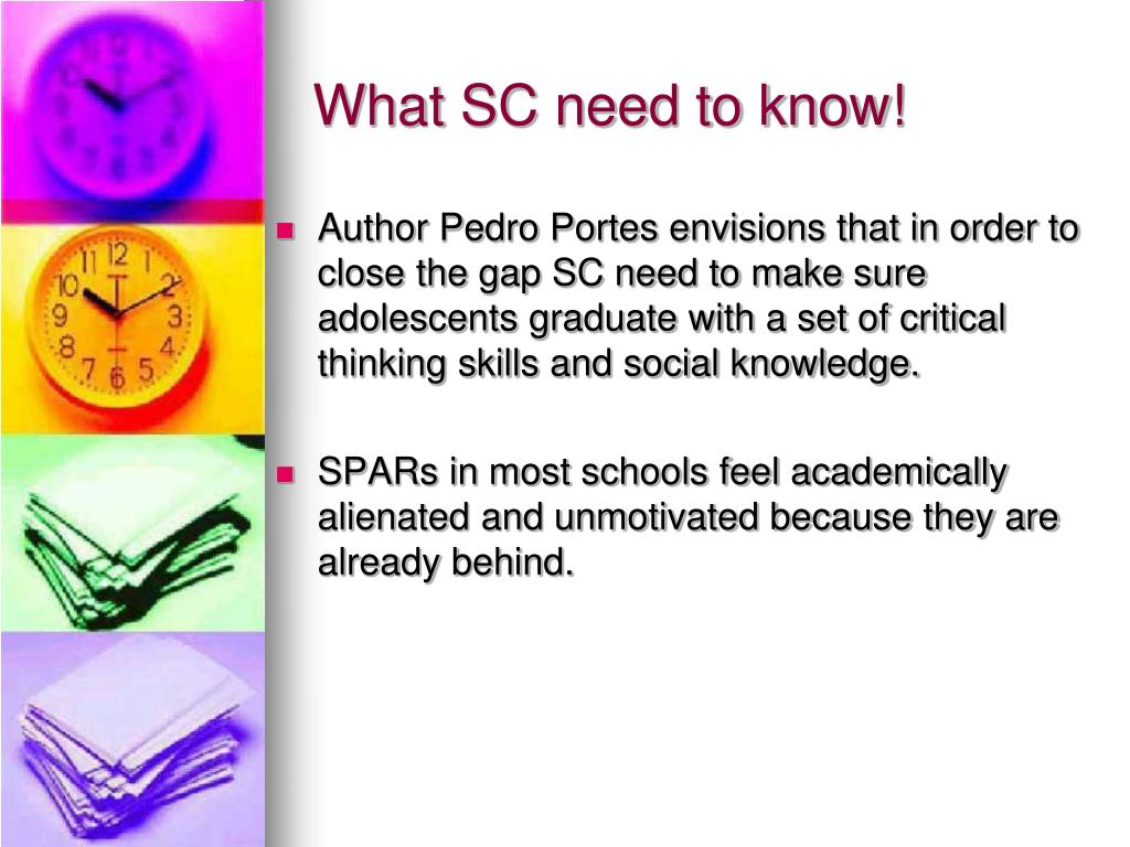 What SC need to know!