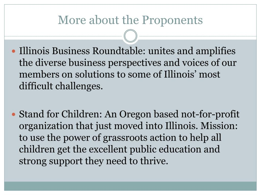 More about the Proponents
