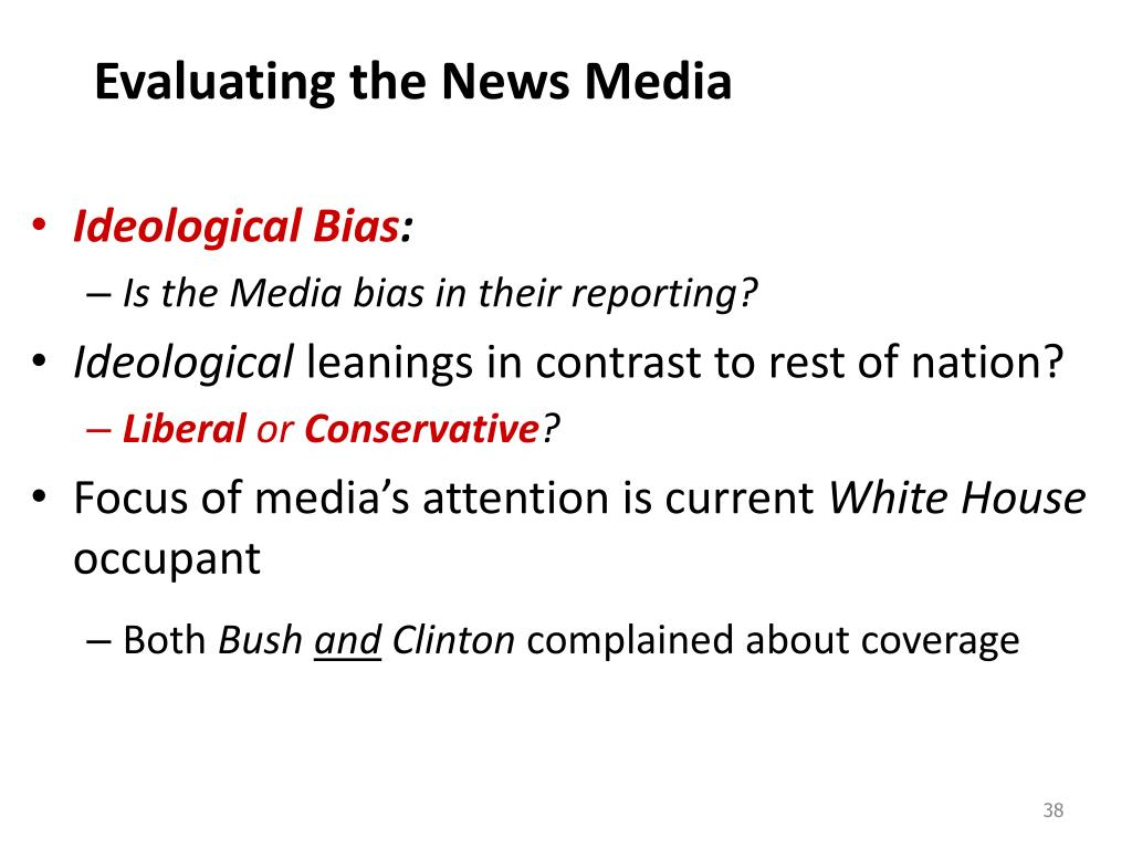 Evaluating the News Media