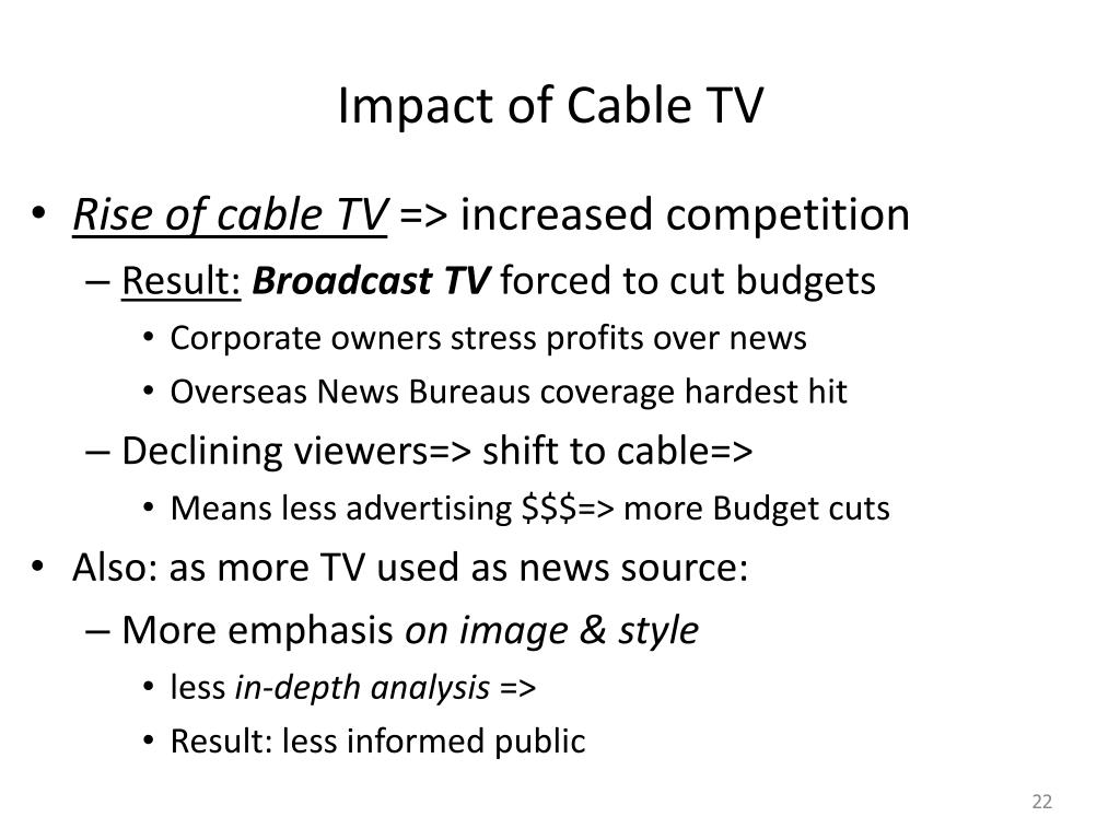 Impact of Cable TV