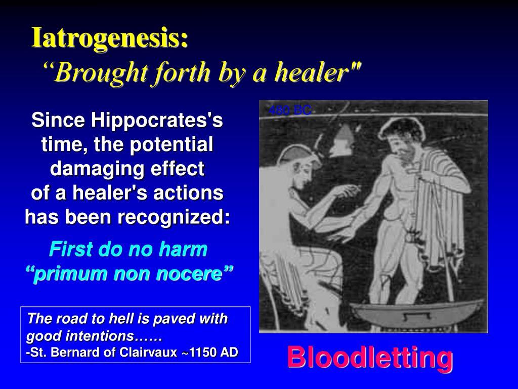 Iatrogenesis: