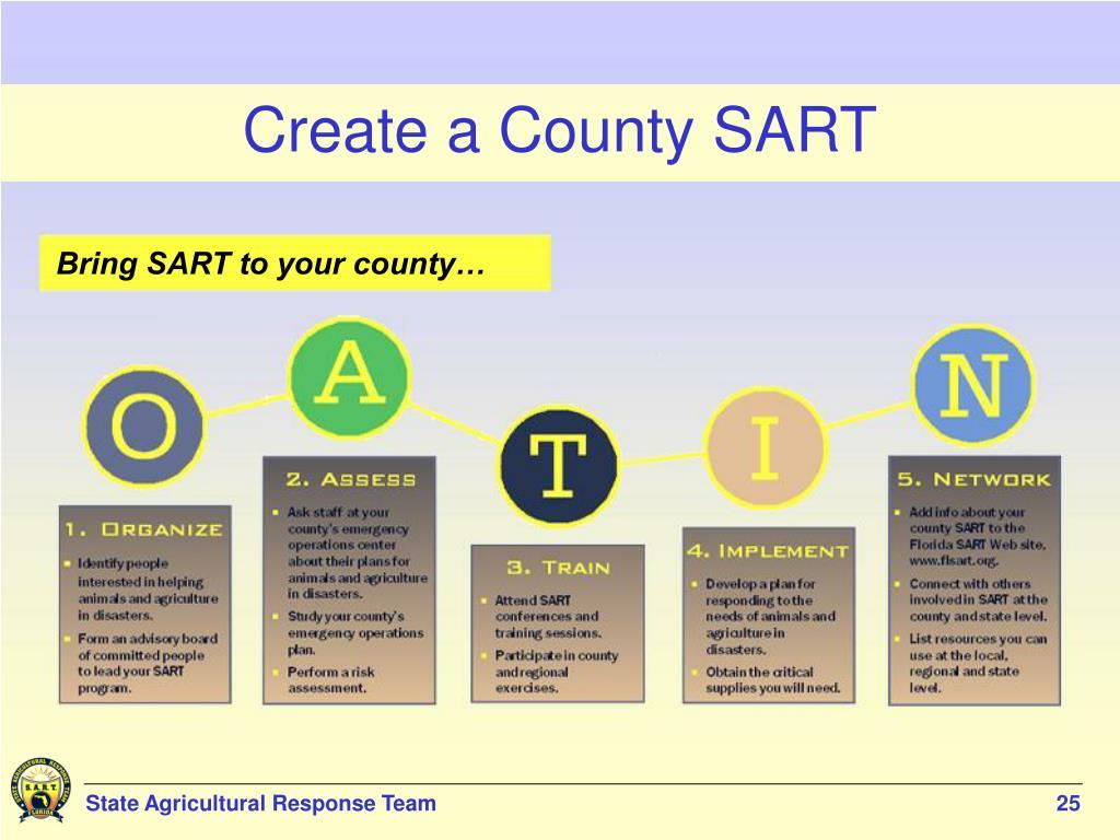 Create a County SART