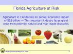 florida agriculture at risk11