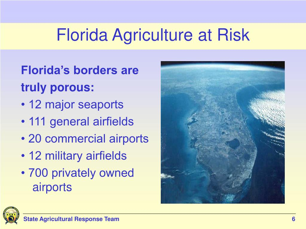 Florida Agriculture at Risk