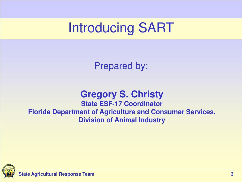 Introducing SART