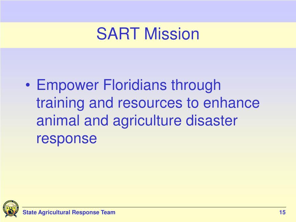 SART Mission