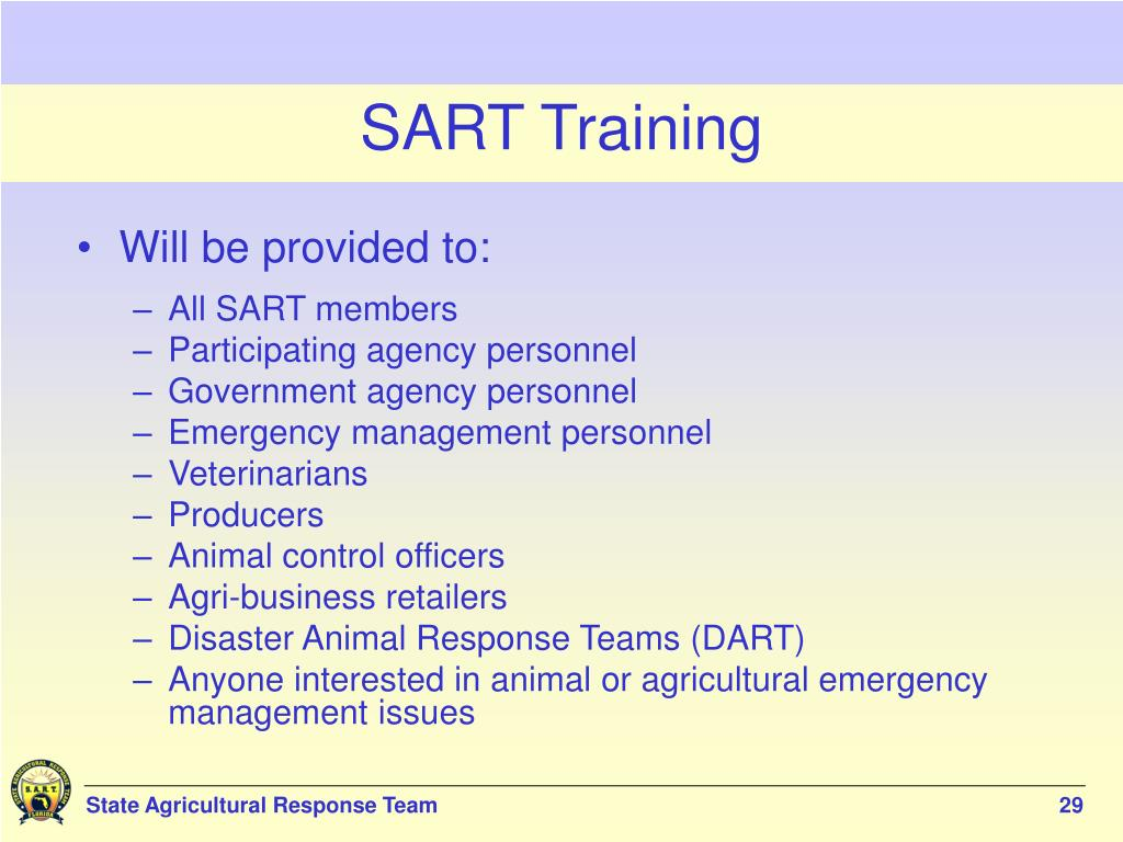 SART Training