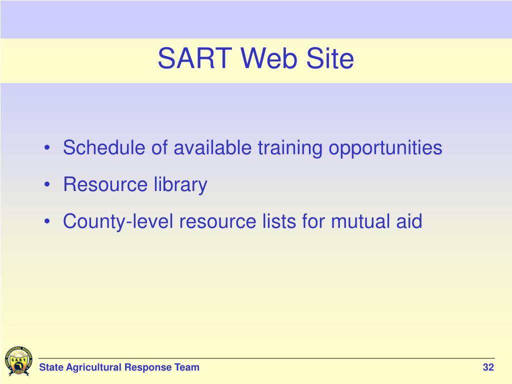 SART Web Site