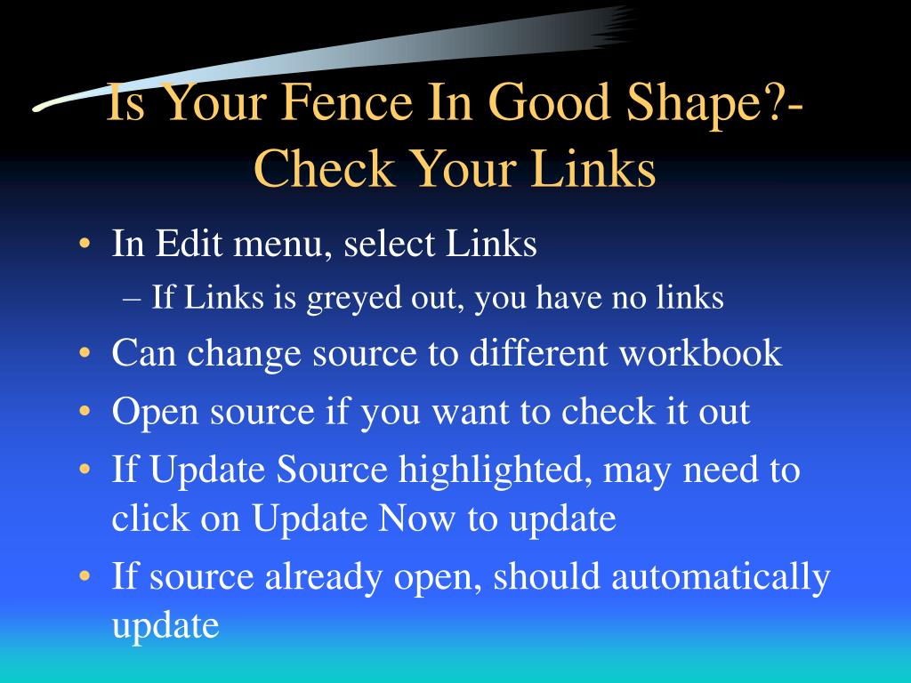 Is Your Fence In Good Shape?-