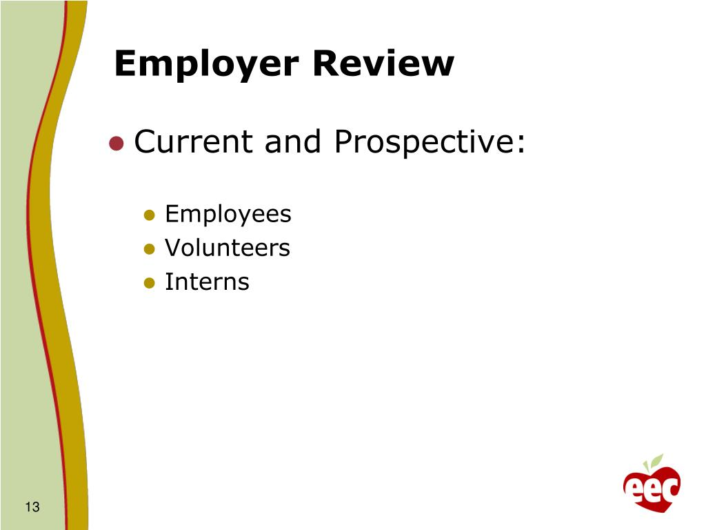 Employer Review