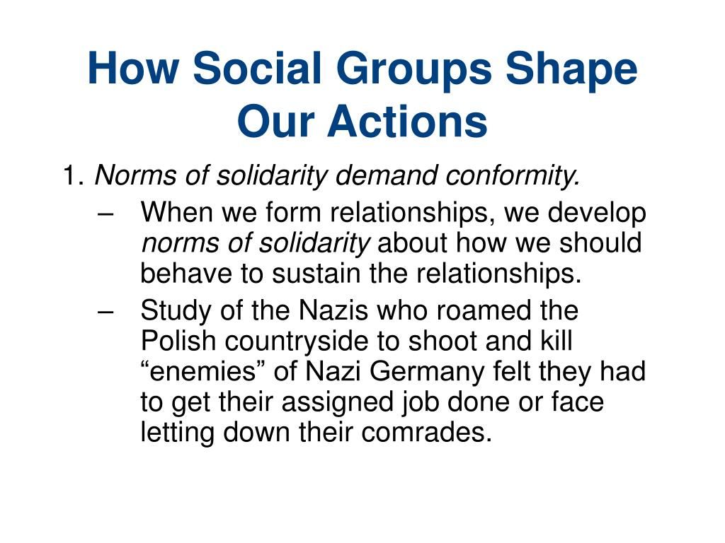 How Social Groups Shape Our Actions