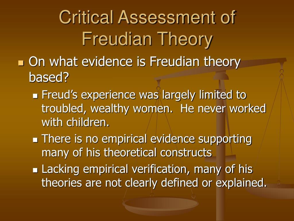 Critical Assessment of