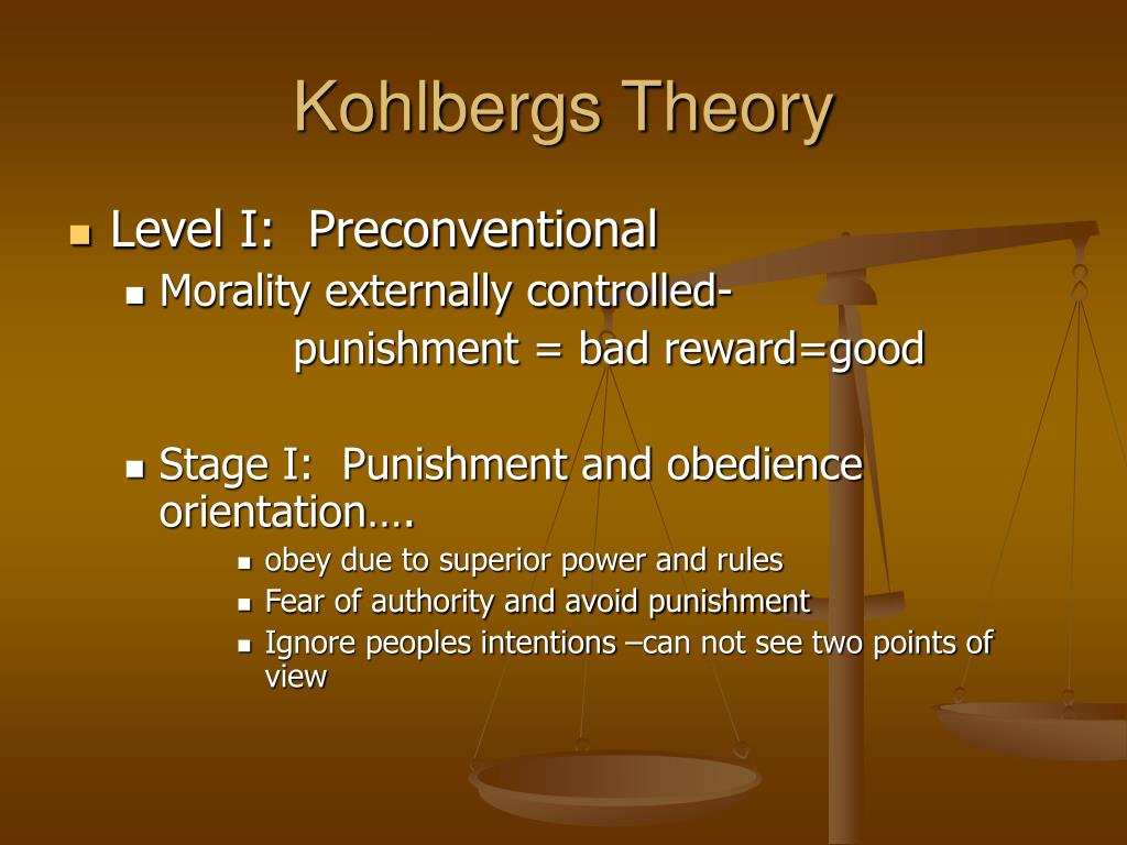Kohlbergs Theory