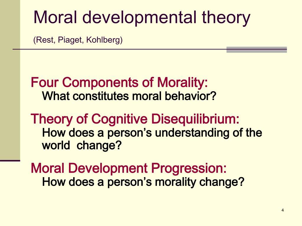 Moral developmental theory
