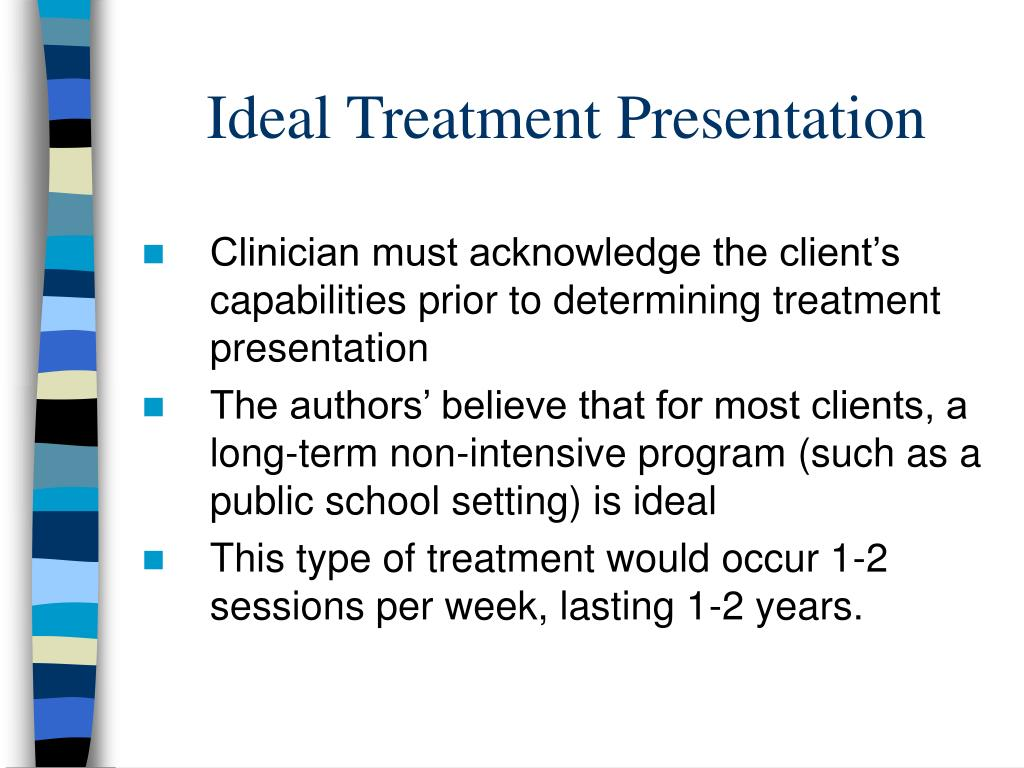 Ideal Treatment Presentation