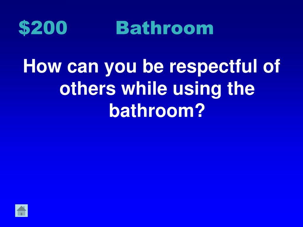 $200 Bathroom