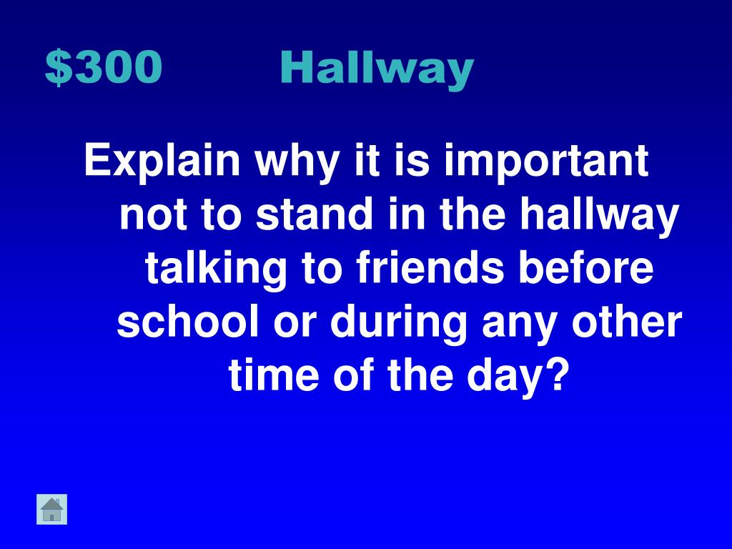 $300 Hallway