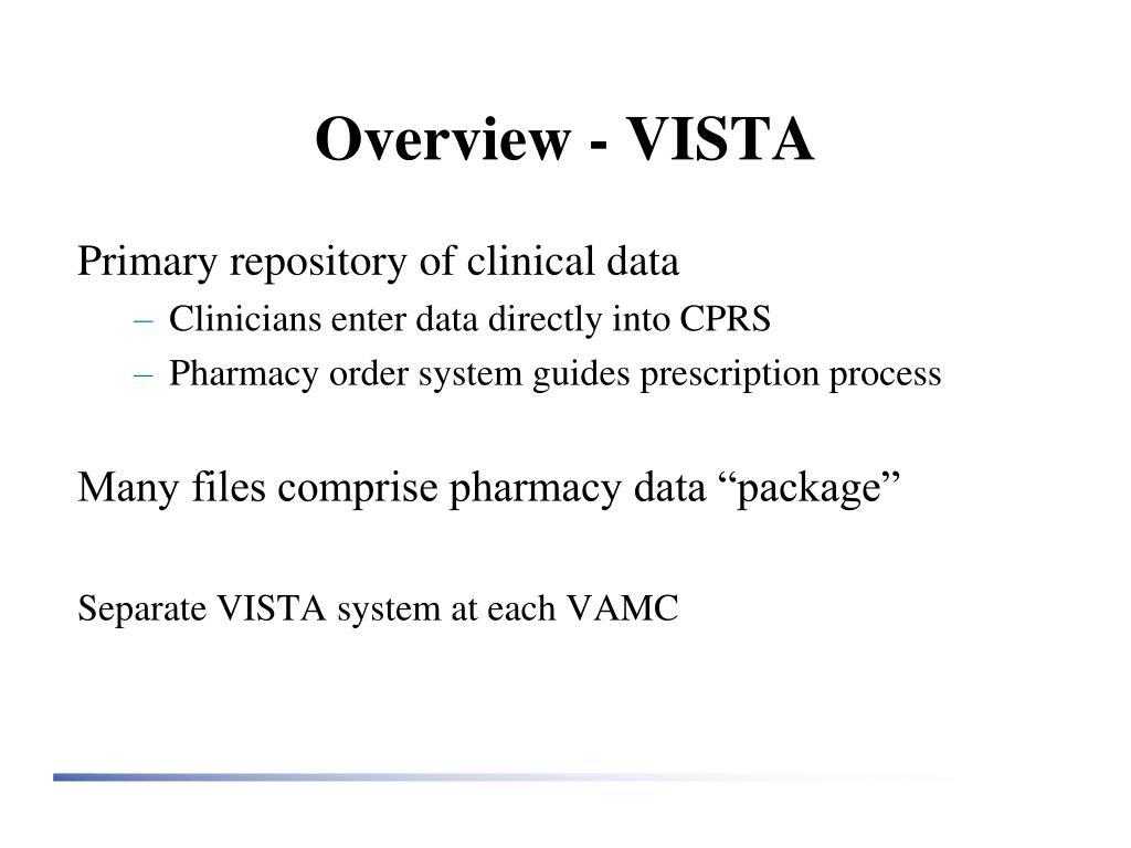 Overview - VISTA