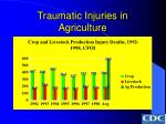 traumatic injuries in agriculture30
